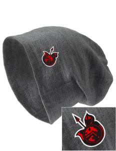 Springville Union School Spartans Embroidered Slouch Beanie