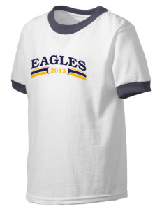 Immaculate Conception School Eagles Kid's Ringer T-Shirt