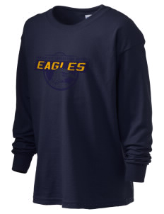 Immaculate Conception School Eagles Kid's 6.1 oz Long Sleeve Ultra Cotton T-Shirt