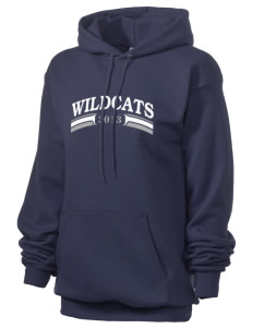 St. Nicholas of Tolentine High School Wildcats Unisex 7.8 oz Lightweight Hooded Sweatshirt