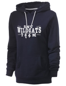St. Nicholas of Tolentine High School Wildcats Women's Core Fleece Hooded Sweatshirt