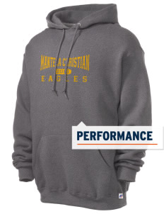 Manteca Christian School Eagles Russell Men's Dri-Power Hooded Sweatshirt