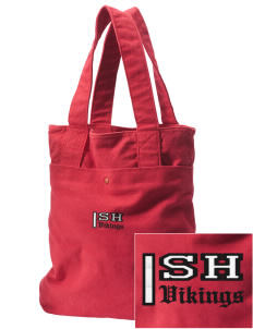 Sacred Heart School Vikings Embroidered Alternative The Berkeley Tote