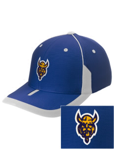 Saint Thomas Of Villanova School Vikings Embroidered M2 Universal Fitted Contrast Cap