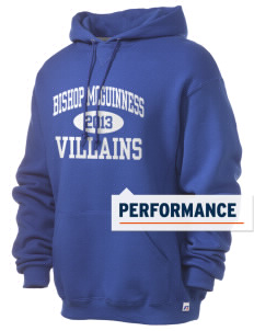 Bishop McGuinness Catholic High School Villains Russell Men's Dri-Power Hooded Sweatshirt
