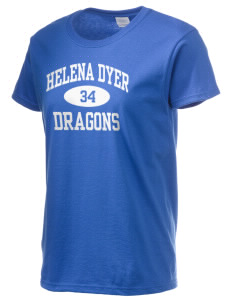 Helena Dyer Elementary School Dragons Women's 6.1 oz Ultra Cotton T-Shirt
