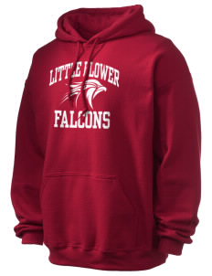 Little Flower Catholic School Falcons Ultra Blend 50/50 Hooded Sweatshirt