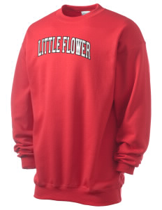 Little Flower Catholic School Falcons Men's 7.8 oz Lightweight Crewneck Sweatshirt