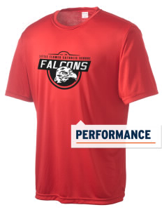 Little Flower Catholic School Falcons Men's Competitor Performance T-Shirt