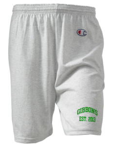 "Cardinal Gibbons High School Crusaders  Champion Women's Gym Shorts, 6"" Inseam"