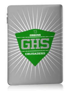 Cardinal Gibbons High School Crusaders Apple iPad Skin