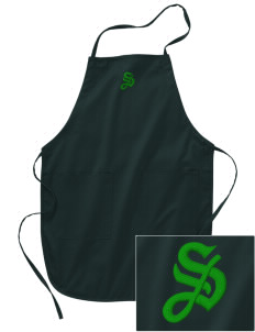 Saint Philip Neri School Spartans Embroidered Full Length Apron