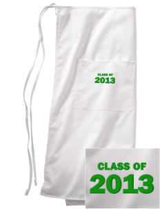 Saint Philip Neri School Spartans Embroidered Full Bistro Bib Apron