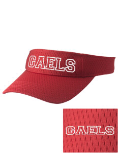 Saint Leander Year Round School Gaels Embroidered Woven Cotton Visor