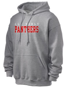 All Souls School Panthers Ultra Blend 50/50 Hooded Sweatshirt