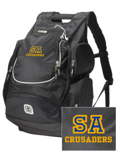 Saint Anthony School Crusaders  Embroidered OGIO Bounty Hunter Backpack