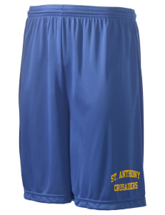"Saint Anthony School Crusaders Men's Competitor Short, 9"" Inseam"