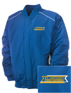 Saint Anthony School Crusaders Embroidered Russell Men's Baseball Jacket