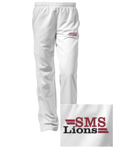St. Mark School Lions Embroidered Women's Tricot Track Pants