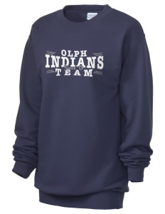 Our Lady Of Perpetual Help School Indians Unisex 7.8 oz Lightweight Crewneck Sweatshirt