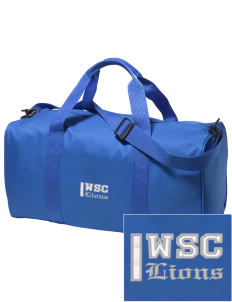 West Seattle Christian School Lions Embroidered Holloway Duffel Bag