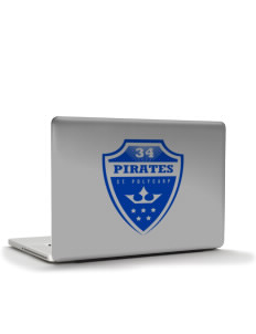 "Saint Polycarp Elementary School Pirates Apple MacBook Air 13"" Skin"