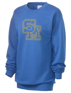 Santa Margarita Catholic High School Eagles Unisex 7.8 oz Lightweight Crewneck Sweatshirt