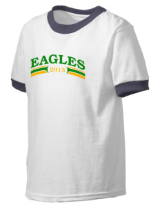 School Of The Epiphany Eagles Kid's Ringer T-Shirt