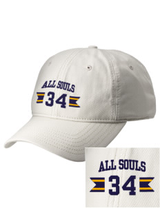 All Souls School Bobcats  Embroidered New Era Adjustable Unstructured Cap