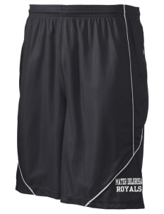 "Mater Dolorosa Elementary School Royals Men's Pocicharge Mesh Reversible Short, 9"" Inseam"