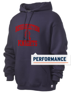 Resurrection Catholic School Knights Russell Men's Dri-Power Hooded Sweatshirt