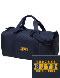 Saint John The Baptist School Trojans Embroidered Holloway Duffel Bag