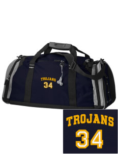 Saint John The Baptist School Trojans Embroidered OGIO All Terrain Duffel