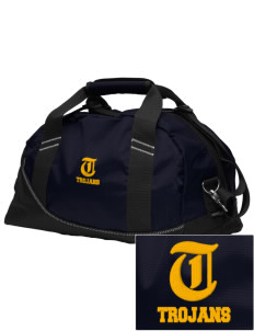 Saint John The Baptist School Trojans Embroidered OGIO Half Dome Duffel