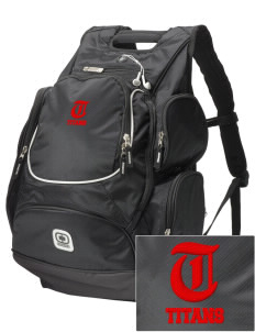 Trinity High School Titans  Embroidered OGIO Bounty Hunter Backpack