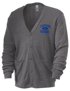 Cascade Middle School Kodiaks Men's 5.6 oz Triblend Cardigan