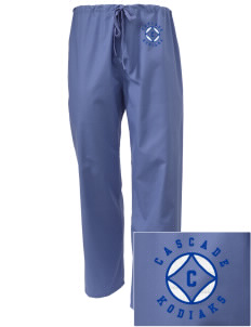 Cascade Middle School Kodiaks Embroidered Scrub Pants