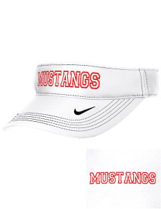 McAlder Elementary School Mustangs Embroidered Nike Golf Dri-Fit Swoosh Visor
