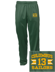 Columbus High School Sailors Embroidered Men's Tricot Track Pants
