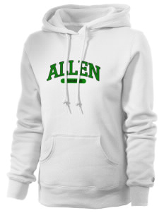Allen Elementary School Vikings Russell Women's Pro Cotton Fleece Hooded Sweatshirt