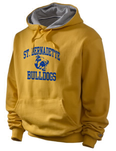 Saint Bernadette School Bulldogs Champion Men's Hooded Sweatshirt