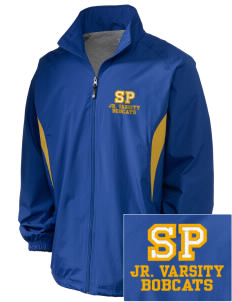 Saint Peter School Bobcats Embroidered Holloway Men's Full-Zip Jacket