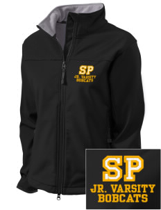 Saint Peter School Bobcats Embroidered Women's Glacier Soft Shell Jacket