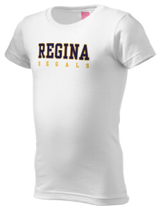 Regina High School Regals  Girl's Fine Jersey Longer Length T-Shirt