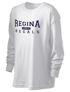 Regina High School Regals Kid's 6.1 oz Long Sleeve Ultra Cotton T-Shirt