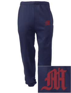 Dowling Catholic High School Maroons Embroidered Men's Sweatpants with Pockets