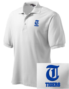 Beacon Hill Elementary School Tigers Embroidered Tall Men's Silk Touch Polo