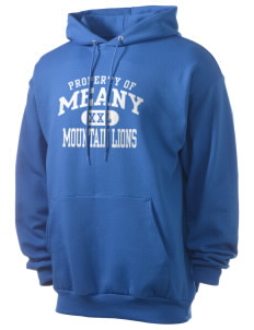Meany Middle School Jaguars Men's 7.8 oz Lightweight Hooded Sweatshirt