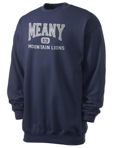 Meany Middle School Jaguars Men's 7.8 oz Lightweight Crewneck Sweatshirt