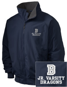 Brighton Elementary School Dragons Embroidered Holloway Men's Tall Jacket